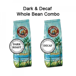 Dark & Decaf Whole Bean Combo