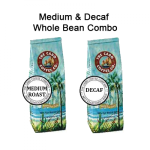 Medium & Decaf Whole Bean Combo